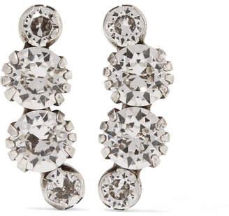Isabel Marant A Wild Shore Silver-tone Crystal Earrings