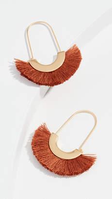 Madewell Arc Fringe Earrings