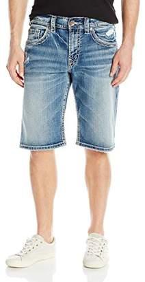 Silver Jeans Men's Gordie Loose-Fit Short