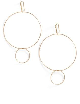 Lana Frontal Hoop Earrings