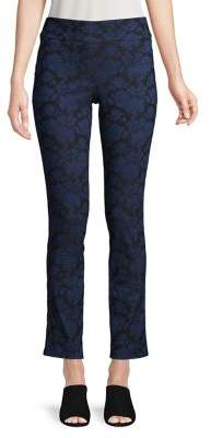 Isaac Mizrahi Imnyc Floral-Print Pants