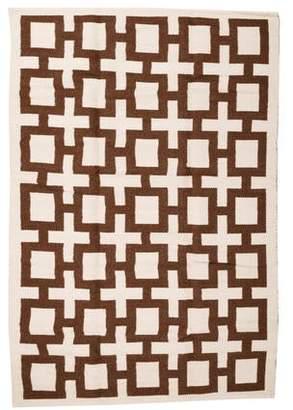 Jonathan Adler Nixon Peruvian Flatweave Rug 6' x 9' w/ Tags