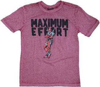 Marvel Comics Deadpool Maximum Effort Graphic T-Shirt