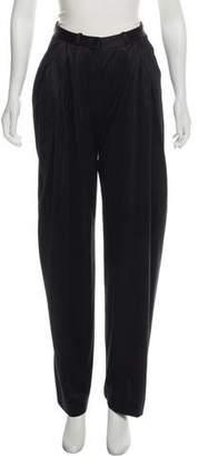 Devi Kroell Silk High-Rise Pants