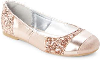 Nina Kids Girls) Rose Gold Davina Ballet Flats