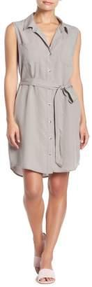 Velvet Heart Rosa Sleeveless Button Down Waist Tie Dress