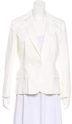 Lanvin Linen-Blend Structured Blazer w/ Tags