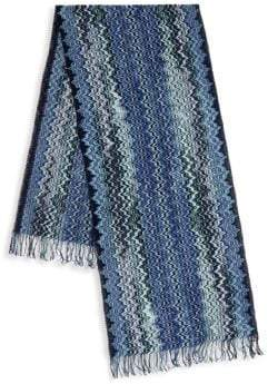 Missoni Graphic Print Scarf