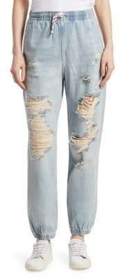 Alexander Wang Demin Jogging Pants
