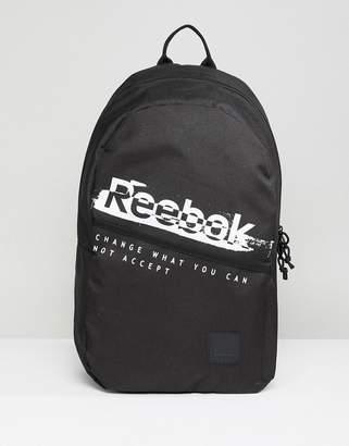 Reebok Training Backpack In Black CZ9752