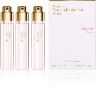 Francis Kurkdjian Amyris femme Eau de Parfum Travel Spray Refills, 3 x 0.37 oz./ 11 mL