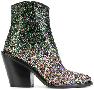A.F.Vandevorst cowgirl glitter boots