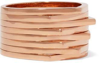 Repossi Antifer 18-karat Rose Gold Ring