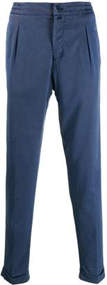Kiton elasticated waistband trousers