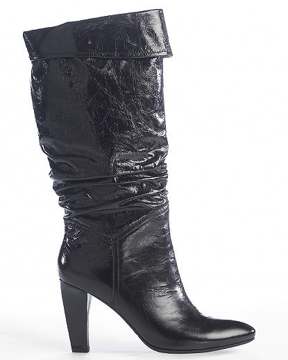 Tall Cuffed Slouch Boot