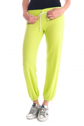 Nation Ltd. Medora Cropped Sweats Lime