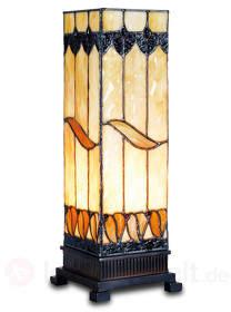 Ungewöhnliche Tischleuchte Malkia im Tiffany-Stil