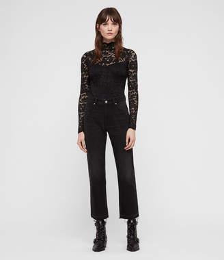 AllSaints Ellen Lace Bodysuit