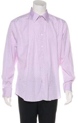 Gucci Abstract Patterned Button-Up Shirt