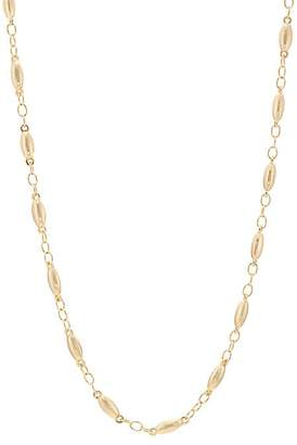 Kenneth Jay Lane WOMEN'S YELLOW-GOLD-PLATED CABLE-CHAIN NECKLACE