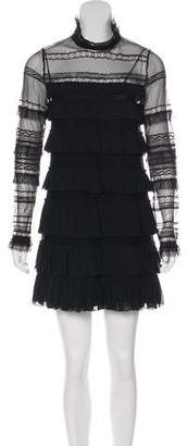 Isabel Marant Lace Ruffled Dress