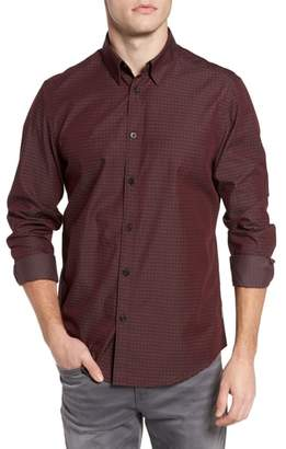 Ben Sherman Dobby Checkerboard Woven Shirt