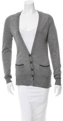 Vera Wang Long Sleeve Wool Cardigan $85 thestylecure.com