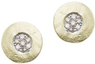 Meira T Women's Diamond and 14K Yellow Gold Stud Earrings