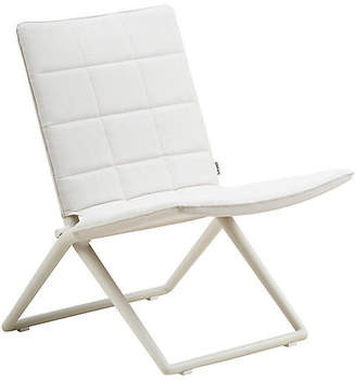 Traveler Folding Accent Chair - White - Cane-line