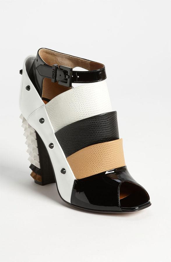 Fendi Ankle Strap Bootie