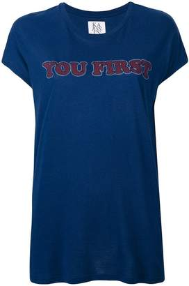 Zoe Karssen you first print T-shirt