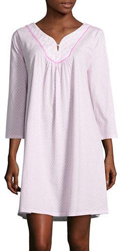 Carole HochmanCarole Hochman Printed Cotton Sleep Gown