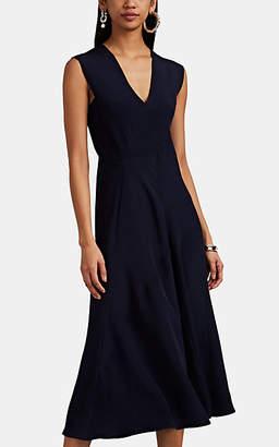 Zero Maria Cornejo Women's Mosa Silk Crepe Dress - Ink Jet