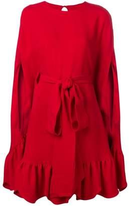 Valentino bow detail shift dress