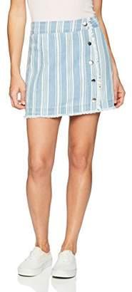 Jack by BB Dakota Junior's Ivanna Printed Chambray Skirt,0