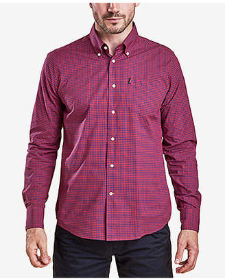 Barbour Men's Leonard Tailored-Fit Gingham Check Shirt