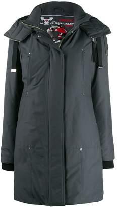 Moose Knuckles padded hooded parka coat