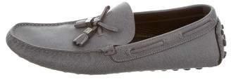 Louis Vuitton Tassel Square-Toe Loafers