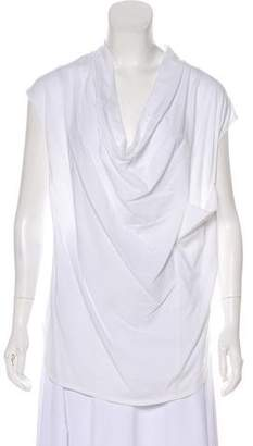 Helmut Lang Sleeveless Longline T-Shirt