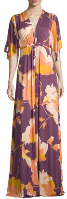 Rachel Pally Floral-Print Long Caftan Maxi Dress, Desert Flower $242 thestylecure.com
