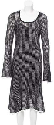Derek Lam Open Knit Midi Dress w/ Tags