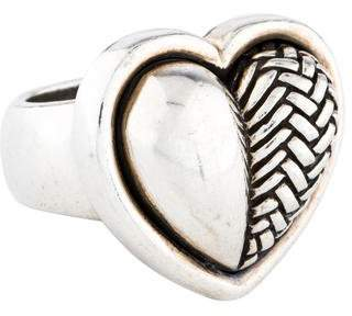 Kieselstein-Cord Woven Heart Ring