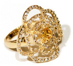 Teong Kay Narcissus Flower Ring