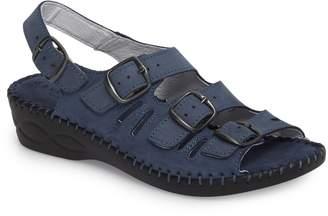 David Tate Luna Slingback Wedge Sandal
