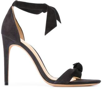 Alexandre Birman bow ribbon pumps