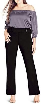 City Chic Plus Smart Bengaline Pants