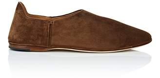 Saint Laurent Men's Fes Suede Venetian Loafers