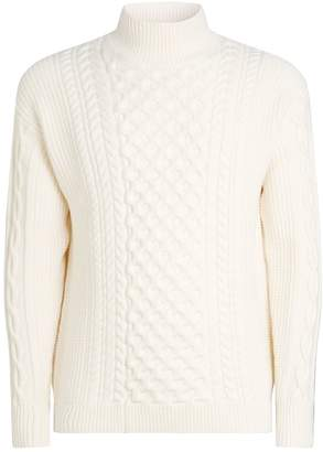 Dunhill Cable Knit Sweater
