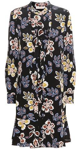 Tory BurchTory Burch Printed silk dress