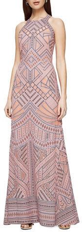 BCBGMAXAZRIABcbgmaxazria Felicia Burnout Lace Dress